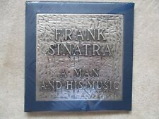 FRANK SINATRA Original 1965 SIGNED AUTOGRAPHED A MAN AND HIS MUSIC Box LP SEALED