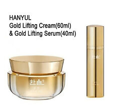 HANYUL Gold Lifting Cream & Serum Luxury Home Skincare Anti-Aging Amore Facific