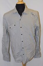 Casual Western Pearl SNAP FRONT PLAID Cotton SHIRT TOP by VINTAGE RED sz Mens XL