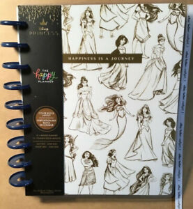 NEW! Happy Planner Disney 2021-2022 PRINCESS HAPPINESS Classic 12 Month Planner
