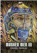 10/11 BETWEEN THE PIPES MASKED MEN III MASK SILVER #MM-38 ONDREJ PAVELEC *43768