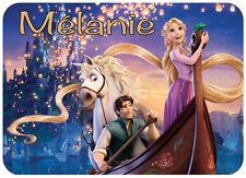 Tapis de souris Disney Raiponse personnalisé avec prénom V2