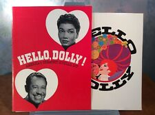 Hello Dolly Programs ~ 1969 Movie (Streisand), 1971 Theatre (Pearl Bailey)