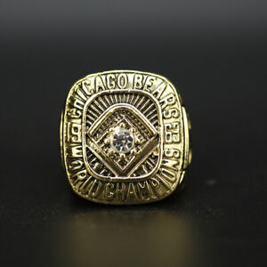 1963 Chicago Bears Ring World Championship Ring WITH Wooden Display Box