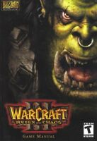 WarCraft Reign of Chaos Blizzard PC Game Manual T Teen