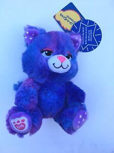 "Build a Bear 7"" Buddies Glow Kitty Plush Toy - New"