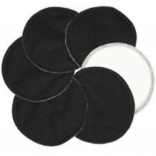 20 x Soft Bamboo Organic Reusable Breast Pads - Washable, Waterproof BLACK
