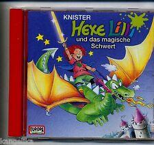 Hexe Lilli--CD--und das magische Schwert--Knister