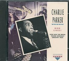 CD ALBUM LIVE 11 TITRES--CHARLIE PARKER--BIRD LIVES !