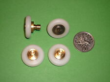 Shower Door Rollers, Wheels, Runners. 4 x SR66