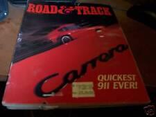 Road & Track Magazine 2/1984 Porsche Carrera