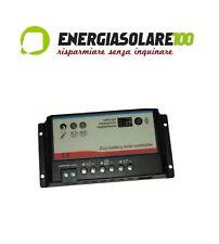 Regolatore di Carica Solare 20A 12V 340W x due batterie motore e servizi Camper