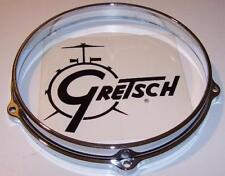"Gretsch Pro USA Drum 8"" Inch - 5 Lug Hoop - Chrome - Tom-Snare Die Cast"