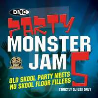 DMC Party Monsterjam Vol 5 Old Nu Skool Continuous Megamix Mixed DJ CD