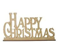 Creative Expressions Laser Cut MDF Happy Christmas CEMDFHAPPYXMAS Phil Martin