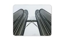 Petronas Towers Kuala Lumpur Mouse Mat Pad - Malaysian Fun Computer Gift #15754