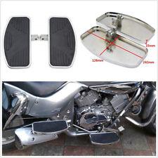 One Pair Motorcycles Front Or Rear Foot Boards Pedals Black For Yamaha Kawasaki