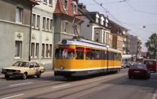 PHOTO  GERMANY ESSEN 1991 TRAM E-RELLINGHAUSEN MÜLHEIM 262