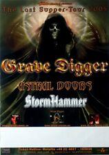 GRAVE DIGGER - 2005 - Tourplakat - In Concert - Last Supper - Tourposter