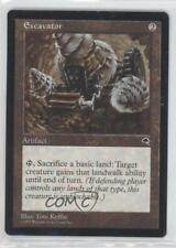 1997 Magic: The Gathering - Tempest Booster Pack Base #NoN Excavator Card 0a0