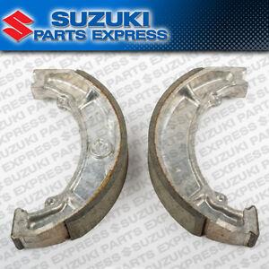 NEW 1987 - 2006 SUZUKI LT80 LT 80 QUADSPORT OEM REAR BRAKE SHOES 64400-40810