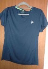 Dunlop Damen Tennis Sport Top - Gr. 40 - Marine Blau - Polyester - NEU