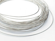 Easy Silver Solder Wire 0.5mm  100cm (1 meter) Round Fully Annealed for Repairs