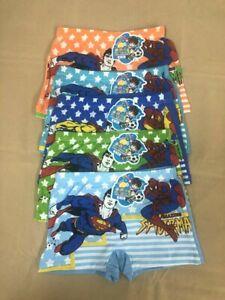 5 Pack A Lot Boys Cartoon Designs  Underwear Regular Wear Underpants Cotton Box