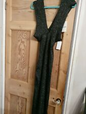 BNWT SLINKY SEXY BODY HUGGING SHIMMERY LUC-CE DRESS S/M