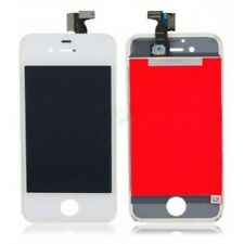 DISPLAY LCD + TOUCH SCREEN per APPLE IPHONE 4 4G BIANCO