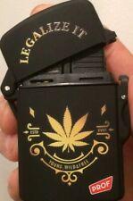 Prof Legalise It Electronic Turbo Jet Flame Gas Refillable Cigarette Lighter