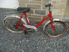 Vélo enfant rouge - torpedo - vintage - seventies