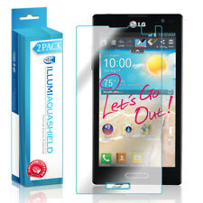 2x iLLumi AquaShield Crystal HD Clear Screen Protector Shield for LG Optimus L9