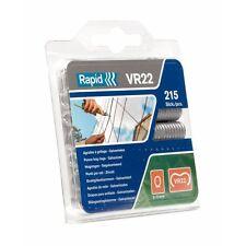 Agrafes VR 22 en acier plastifié vert - Boîte de 215 - RAPID