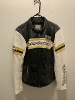 Harley Davidson H-D Speedway Spirit 1903 Leather Jacket Women's Size Large EUC