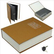 Book Safe with Lock-Dictionary Secret,Cash,Money,Hidden,Box,Security,Storage