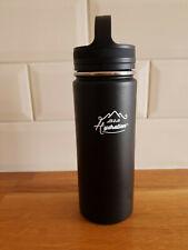 M&H HYDRATION WATER BOTTLE 700ml / 0.7L Metal Black Matt - NEW