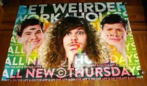 WORKAHOLICS 5FT SUBWAY POSTER COMEDY CENTRAL 2016