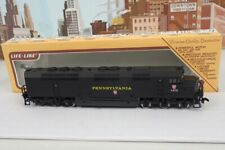 1980's Life Like HO Scale No.1473 Pennsylvania Diesel Engine With Box