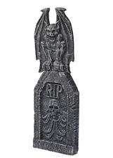 Halloween Party Deluxe Prop Tombstone with Gargoyle