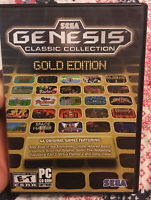 Sega Genesis Classic Collection Gold Edition (PC, 2011)