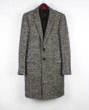 Dior Homme by Hedi Slimane AW07 Herringbone Men Coat Size 50