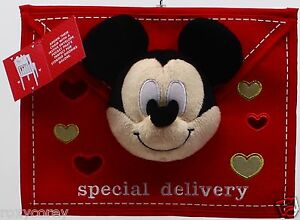 Disney's Mickey Mouse Special Delivery Valentine's Day Chair Cover Decor 12x3x9