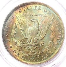 1884-O Toned Morgan Silver Dollar $1 - PCGS MS63 - Nice Rainbow Toning!