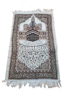 Thin Travel Prayer Mat / Rug  Kabah Janamaaz Sajjadah