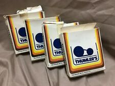 Lot of 4 THUMBLERS TUMBLER ROCK POLISHER ACCESSORIES 8OZ SEALED