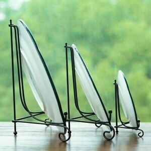 Iron Plate Easel Holder Display Stand Picture Frame Pedestal Ornament Decorative