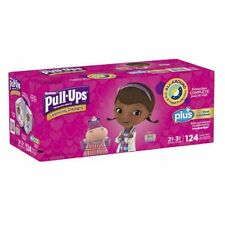 Huggies, Learning Designs Pull-Ups, Girls, Size:2T-3T, 124 Count (Pack may vary)