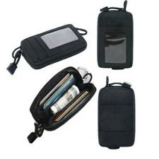 Waterproof Tactical Molle Pouch Wallet Card Bag Nylon  Key Holder Money Case