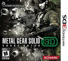 Metal Gear Solid Snake Eater 3D [Nintendo 3DS Stealth Action Espionage Guns] NEW